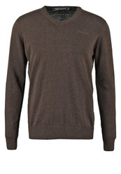 Teddy Smith Pulser Jumper Ebene Chine Brown
