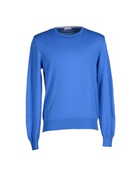 Heritage Knitwear Jumpers Men Azure