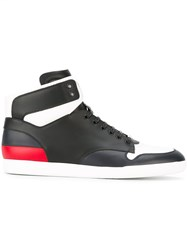 Christian Dior Homme Colour Block Hi Tops Black