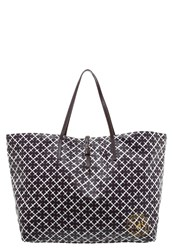 By Malene Birger Grinolas Tote Bag Plum White Bordeaux