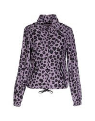 Moschino Cheap And Chic Moschino Cheapandchic Coats And Jackets Jackets Women Lilac