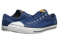 Converse Chuck Taylor All Star Summer Woven Ox Midnight Hour White Acorn Shoes Blue