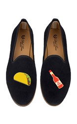 Del Toro M'o Exclusive Taco And Tabasco Slipper Black