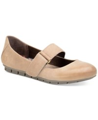 Born Malli Mary Jane Flats Women's Shoes Taupe