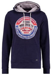 Petrol Industries Hoodie Deep Capri Dark Blue