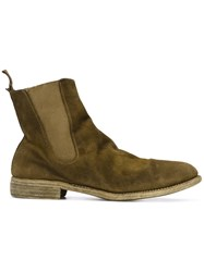 Guidi Chelsea Boots Men Horse Leather Leather 43 Brown
