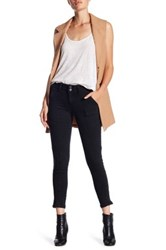 Jolt Denim Moto Pant With Ankle Zip Black