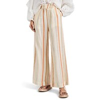 Ace And Jig Stroll Striped Cotton Gauze Pants Multi