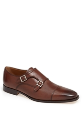 Florsheim 'Classico' Double Monk Strap Slip On Brown