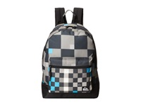 Quiksilver Generation Backpack Checks Yardage Big Size Gunsmoke Backpack Bags Gray