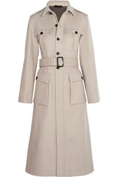 Joseph Mili Felted Wool Blend Coat Stone