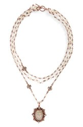 Virgins Saints And Angels Women's San Benito Magdalena Rosary Necklace Nordstrom Exclusive Color