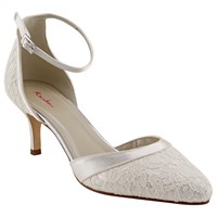 Rainbow Club Darcey Two Part Court Shoes Ivory