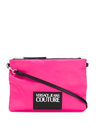 Versace Jeans Couture Logo Patch Clutch 60