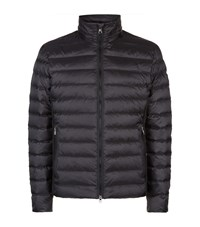 Armani Quilted Jacket Black