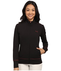 Puma Pwrwarm Golf Jacket Black Women's Coat