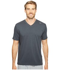 Tasc Performance Vital V Neck Gunmetal Men's Workout Gray