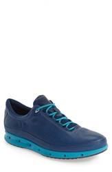 Ecco Men's 'Cool Gore Tex' Sneaker Poseidon Blue Leather