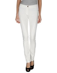 Roberta Scarpa Casual Pants White
