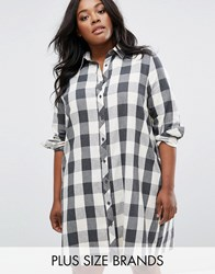 Alice And You Check Shirt Dress Multi