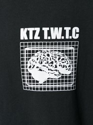 Ktz Brainstorm T Shirt Cotton Black
