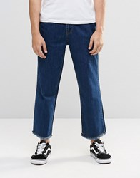Brooklyn Supply Co. Brooklyn Supply Co Wide Leg Jeans Stonewash Blue