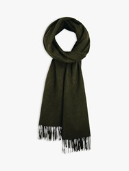 Hush Luxe Lambswool Scarf Olive