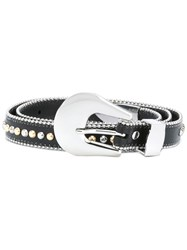 B Low The Belt Studded Black