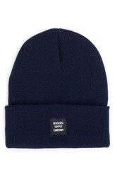 Herschel Women's Supply Co. Abbott Knit Beanie Blue Navy