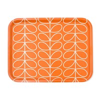 Orla Kiely Linear Stem Tray Persimmon