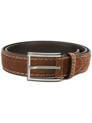 Canali Casual Belt Brown
