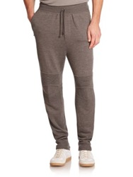 Ralph Lauren Black Label Merino Wool Sweatpants Dark Grey
