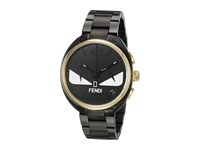 Fendi Timepieces Momento Bugs 40Mm Yellow Gold Black