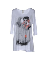 25.10 Per Maurizio Collection Short Sleeve T Shirts White