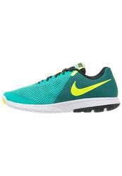 Nike Performance Flex Experience Run 5 Competition Running Shoes Clear Jade Volt Black White Green