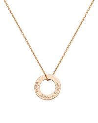Merci Maman Personalized Eternity Necklace Gold
