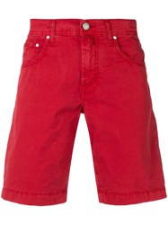 Jacob Cohen Chino Shorts Red