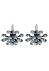 Konplott Magic Fireball Earrings Grey Crystal