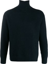 Laneus Turtleneck Jumper Black