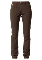Chervo Trousers Dunkelgrau Black