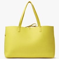 John Lewis Rachel Reversible East West Tote Bag Yellow Gold
