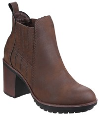 Rocket Dog Raegan Gusset Ankle Boots Brown