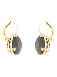 Wouters And Hendrix Grey Agate Earrings Pink And Purple