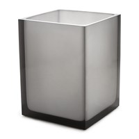 Jonathan Adler Hollywood Waste Bin Smoke