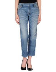 Htc Denim Denim Trousers Women Blue