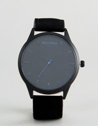 Bellfield Watch With Black Dial
