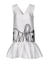 Leitmotiv Short Dresses White