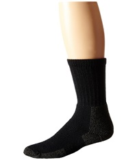 Thorlos Hiking Crew 3 Pair Pack Black Crew Cut Socks Shoes
