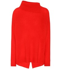 81 Hours Cast Cashmere Sweater Red