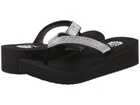 Yellow Box Cliff Black Women's Sandals